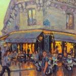 Evening Cafe, Paris
