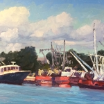 Fishing Boats, Hampton