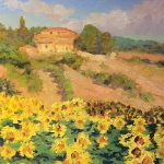 Tuscan Sunflowers SOLD