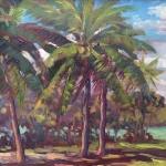 Oleta River Palms Plein Air
