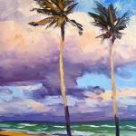 Hollywood Beach Palms
