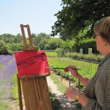 Painting in Van Gogh's footsteps, St. Remy de Provence